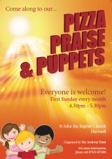 Pizza, Praise and Puppets